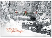 Icy Creek Seasons Greetings Card