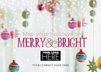 So Bright Holiday Logo Cards