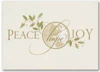 Peace Hope Joy UNICEF Holidy Cards