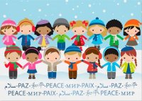 Holding Hands UNICEF Holiday Cards