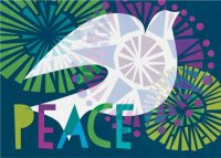 Colorful Dove UNICEF Holiday Cards