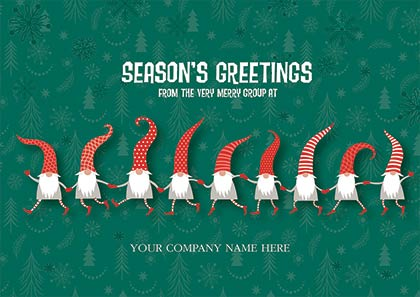 Jumping for Joy Holiday Cards