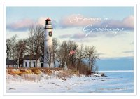 Lighthouse Pride Holiday Cards