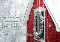 Rural Charm Holiday Cards