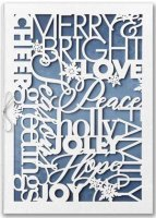Intricate Greetings Laser Cut Upscale Holiday Cards