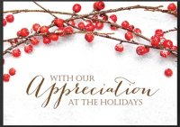 Berry Appreciation Festive Holiday Card
