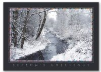 Radiant View Winter Scenes Christmas Holiday Card
