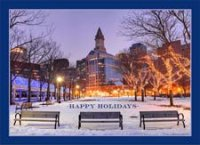Boston Holidays Card