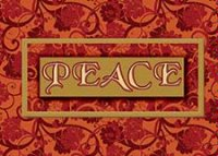Peace (BCF1218) Charity Holiday Card