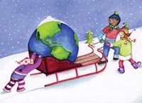 World of Good Wishes (GH1118) Charity Christmas Card