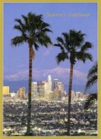 Los Angeles Palms Holiday Card
