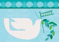 Peace Parade (BCF1321) Charity Holiday Card