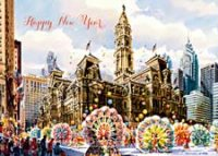 Philadelphia Mummers Holiday Card