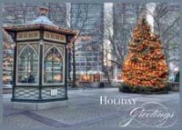 Holiday Time in Rittenhouse Square Christmas Card