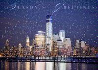 World Trade Center Skyline Holiday Cards